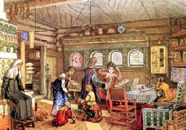 картинки русский быт в прошлые века